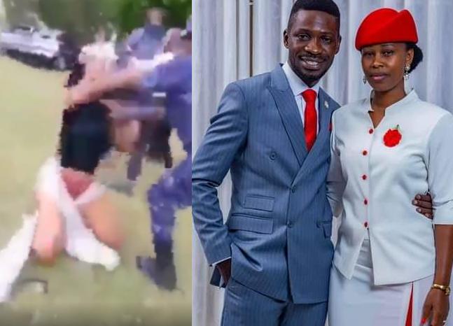 Ugandan Presidential candidate, Bobi Wine?s wife