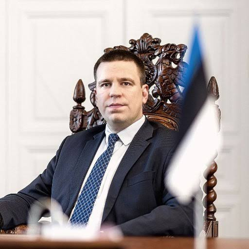 Estonian prime minister, Juri Ratas resigns over corruption probe