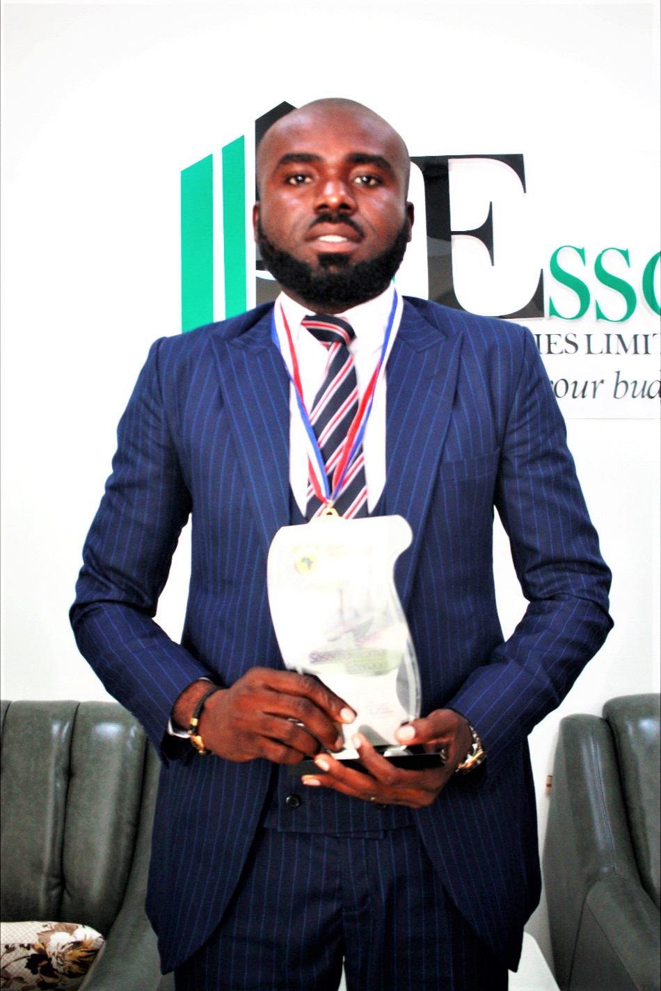 Real Estate Rising Star, Ezenagu, inducted into LEADS Africa Hall of Fame
