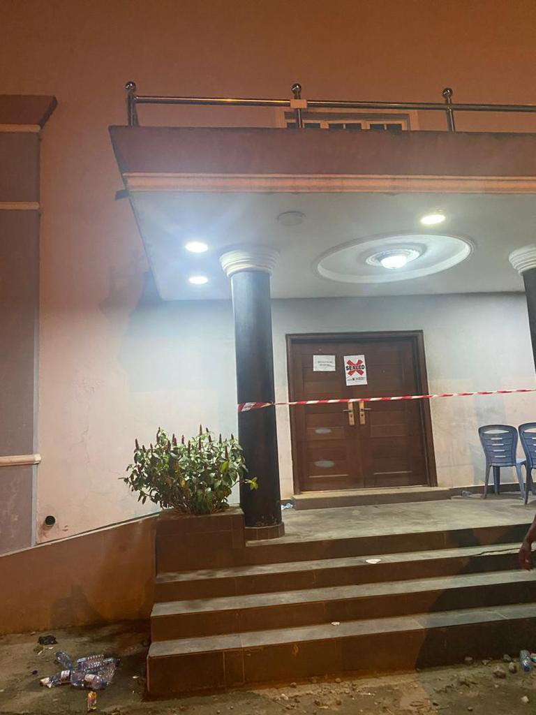 Lagos state government seals Eko club event center for violating COVID19 protocols (photos)