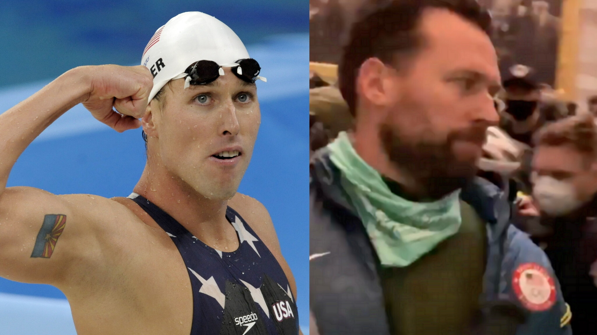 Olympic gold medalist, Klete Keller charged for his alleged role in Capitol riots