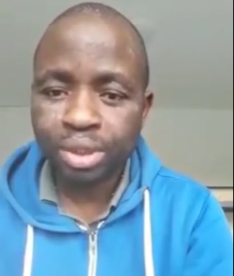 Nigerian man in Germany begs to be deported to Nigeria (video)