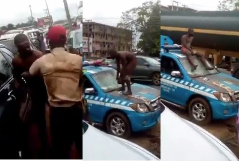 Tricycle rider who stripped naked and assaulted FRSC officials in Edo bag three months imprisonment