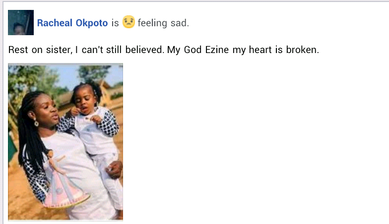 """You both were the light of my life"" - Nigerian man mourns his wife and 2-year-old daughter killed in motor accident"