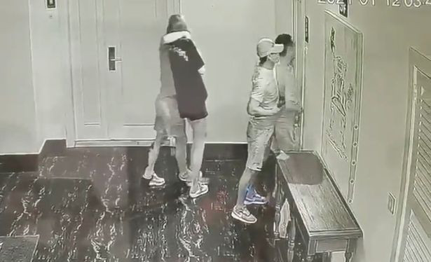 Chinese couple murdered in Cambodia, last moments caught on CCTV camera (video)