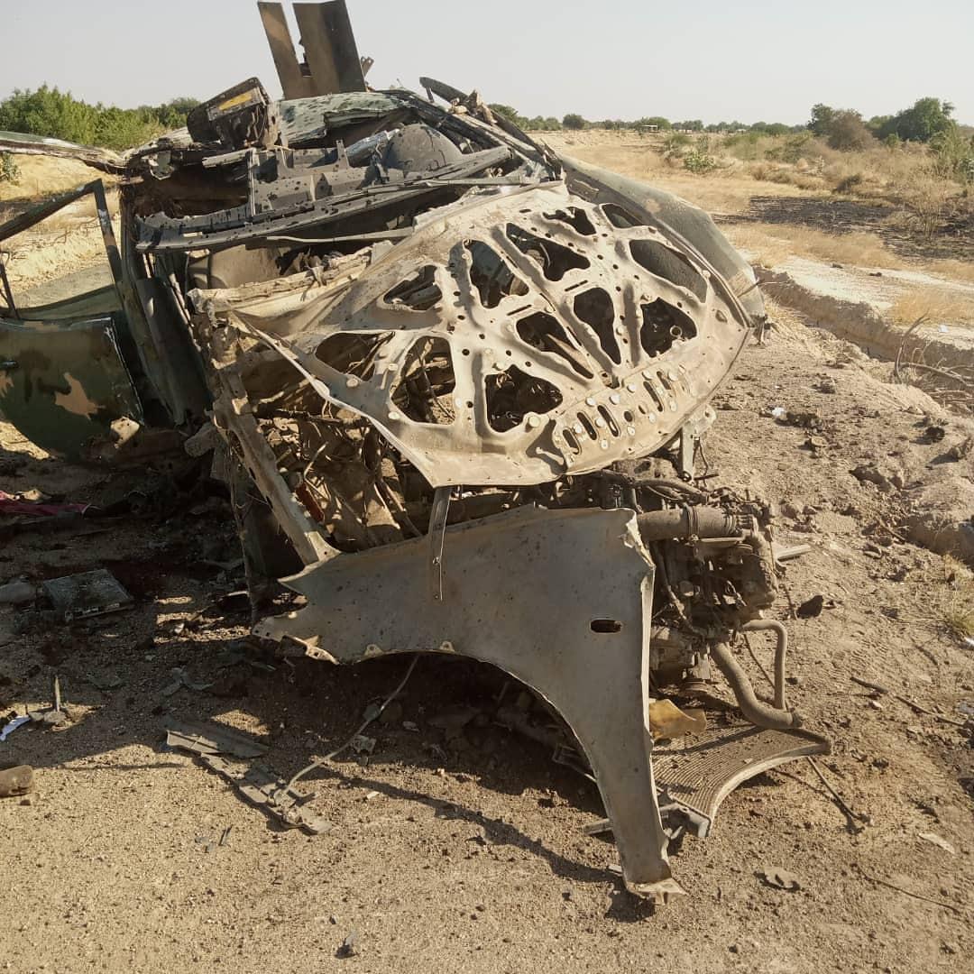 Troops repel attack in Borno, destroy Boko Haram gun trucks (photos)