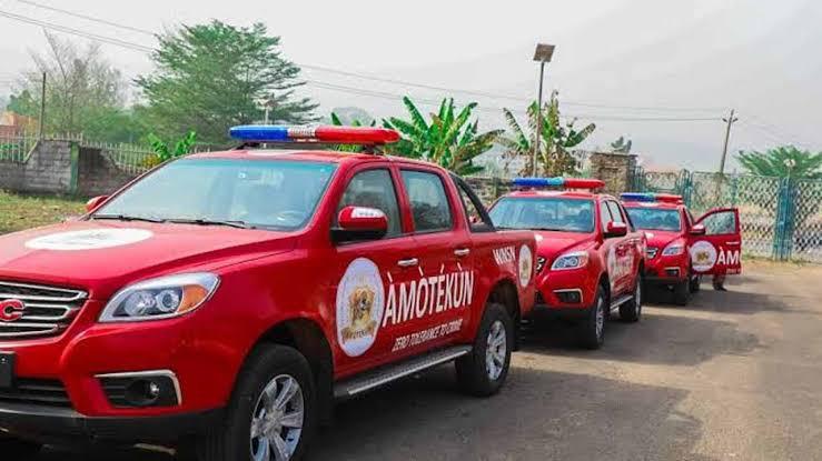 Tailors sewing fake Amotekun uniforms arrested in Oyo