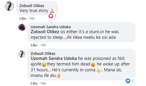 """Prominent Imo Chief allegedly ?resurrects? 31 hours after being """"certified dead and kept in a mortuary"""" (videos)"""