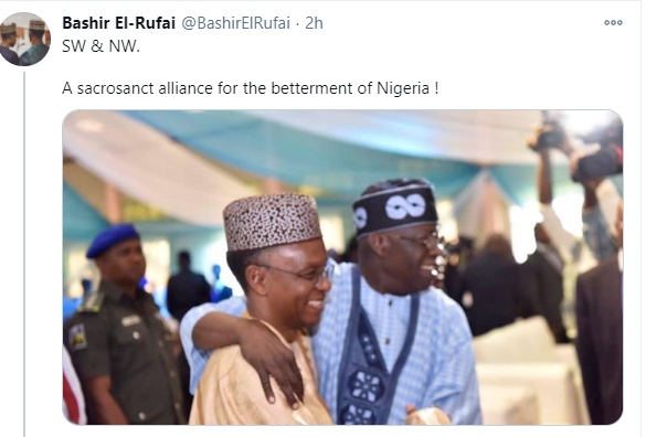 Before you come near me, you and your lineage would have chopped 10000 bullets - Bashir El-Rufai tells man who threatened to attack him