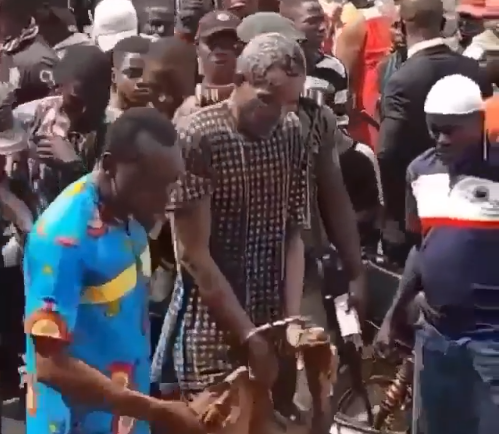 Suspected ritualist den uncovered in Ekiti (videos)