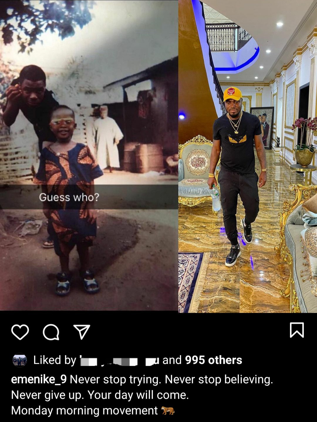 """Your day will come"" Emmanuel Emenike motivates his followers with throwback photo"