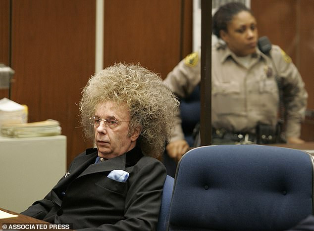 Music producer Phil Spector dies of coronavirus 12 years into his 19-year jail sentence for shooting hostess dead