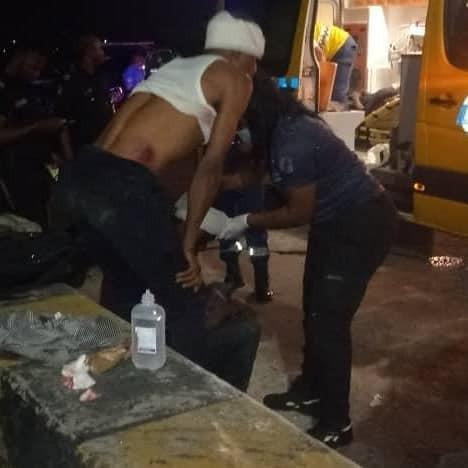 Seven passengers injured in ghastly motor accident on Third Mainland Bridge