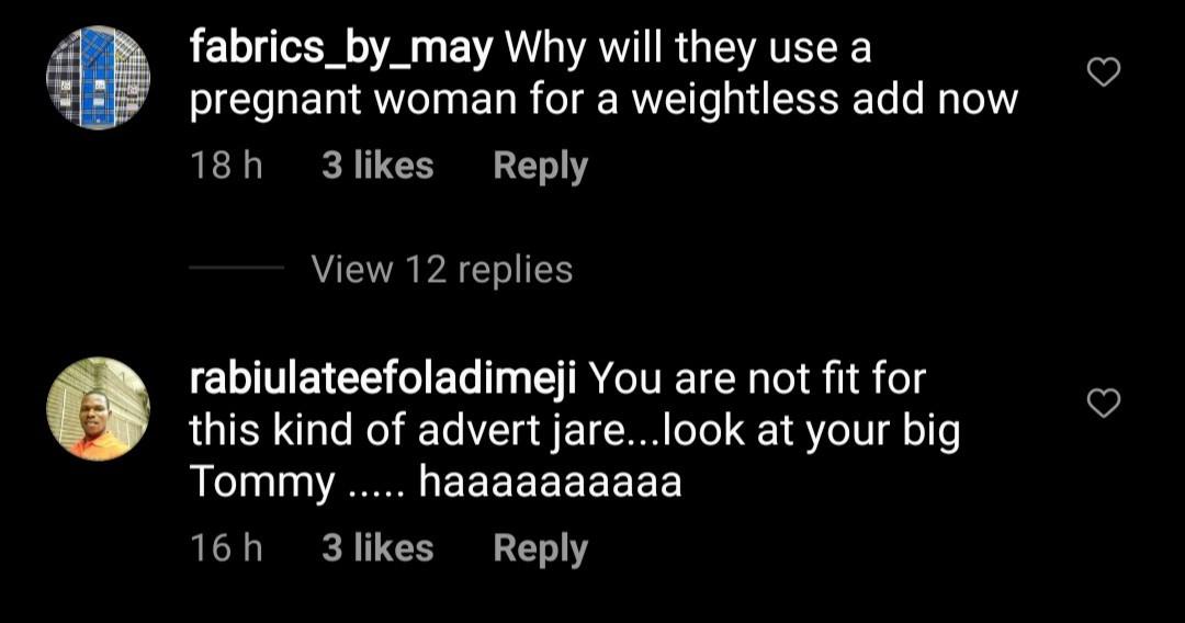 Dayo Amusa responds to trolls who body-shamed her and said she