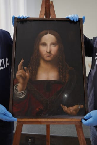 Police recover 500-year-old stolen copy of Leonardo da Vinci