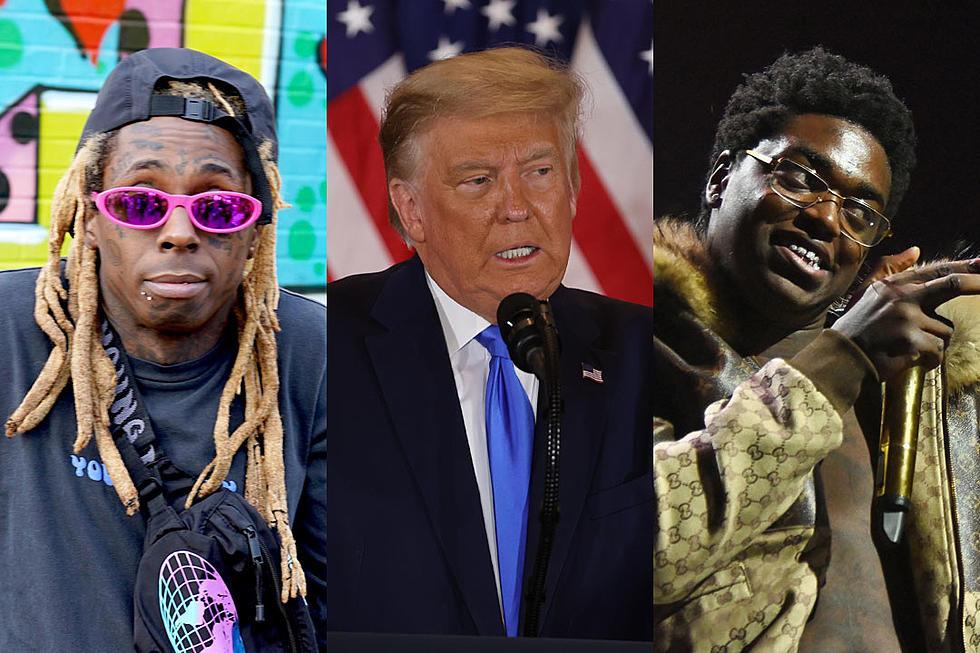 President Trump grants clemency to rappers Lil Wayne and Kodak Black in his final hours in office