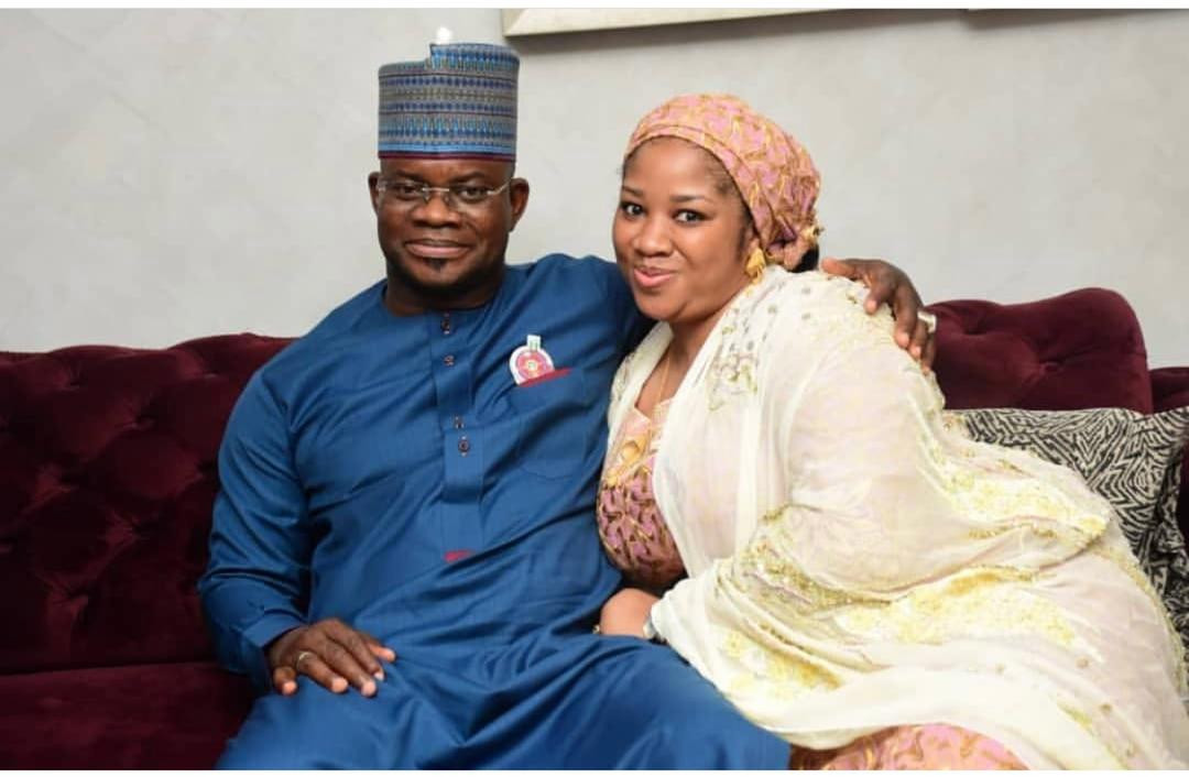 Governor Yahaya Bello reportedly divorces third wife, Hafiza