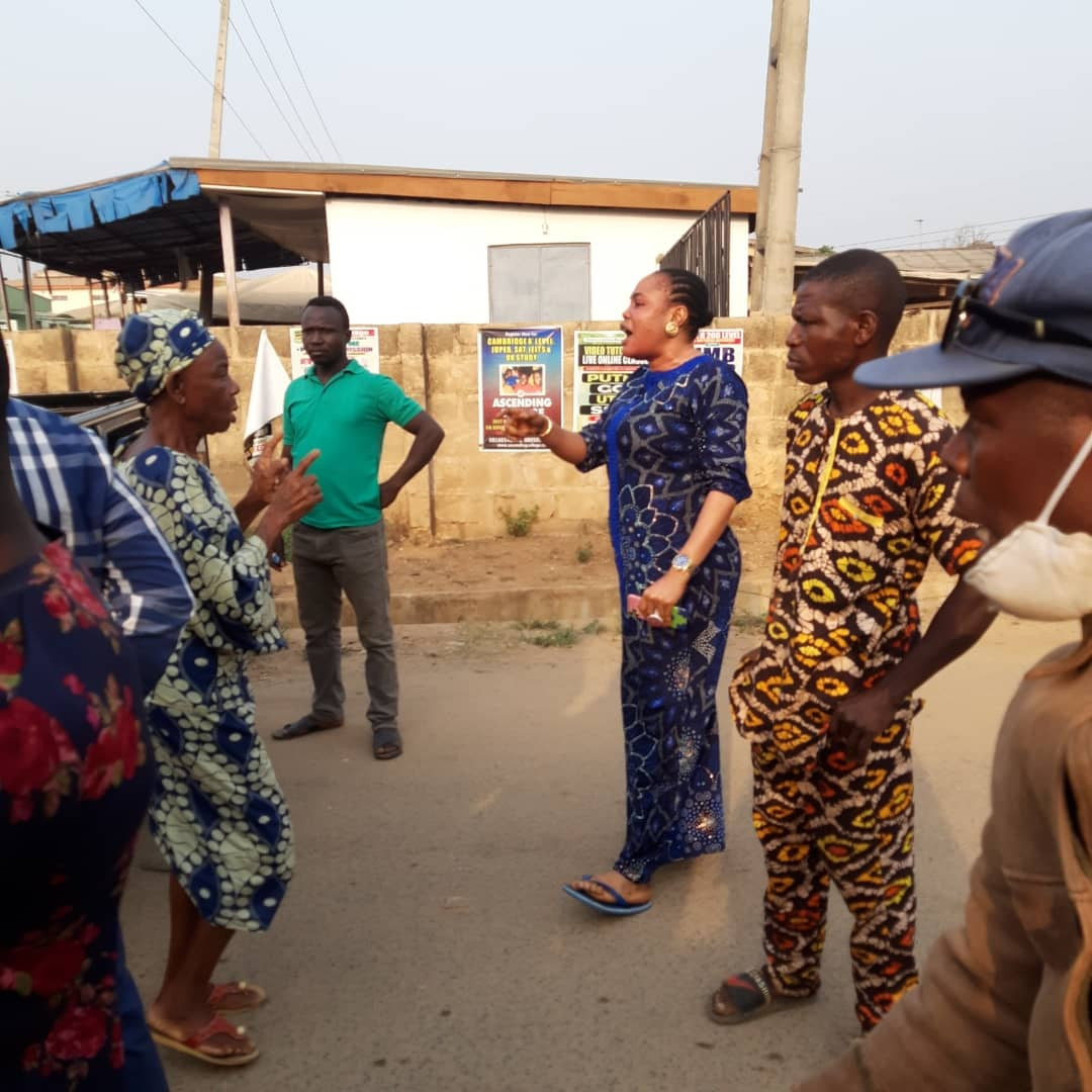 Woman arrested for allegedly assaulting Oyo State Traffic Management official