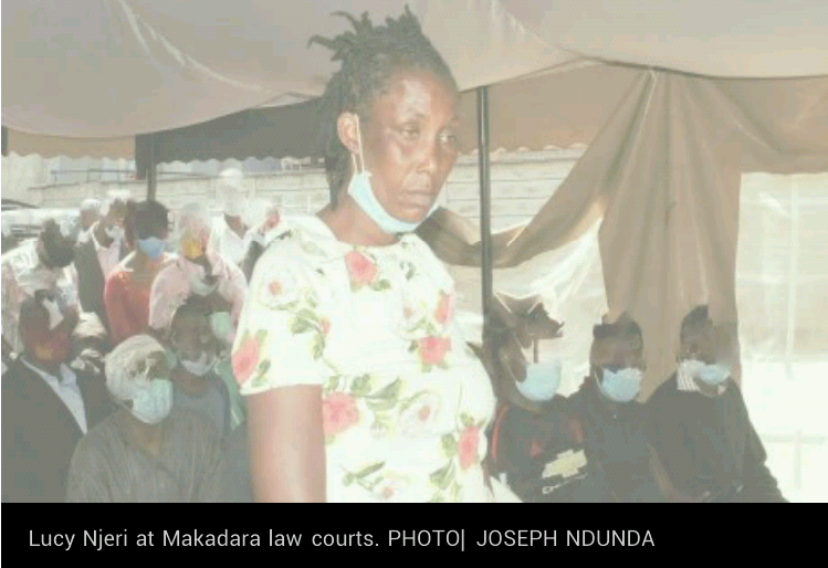 Kenyan woman who scalded estranged husband with acid after he caught her in bed with another man says she left him because of his