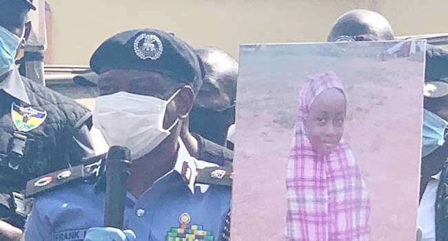 Police parade suspected kidnappers who allegedly killed a 6-year-old girl after demanding for N8m ransom from her family
