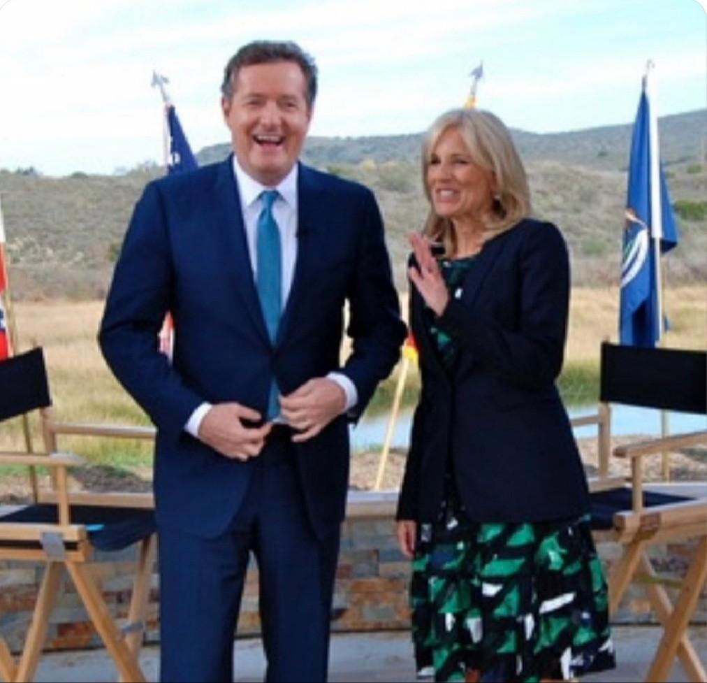 Piers Morgan sings praise of Jill Biden and says he