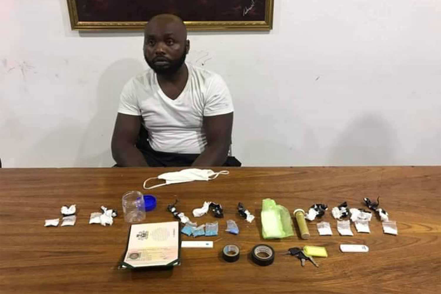 26-year-old Nigerian man arrested with drugs in Thailand