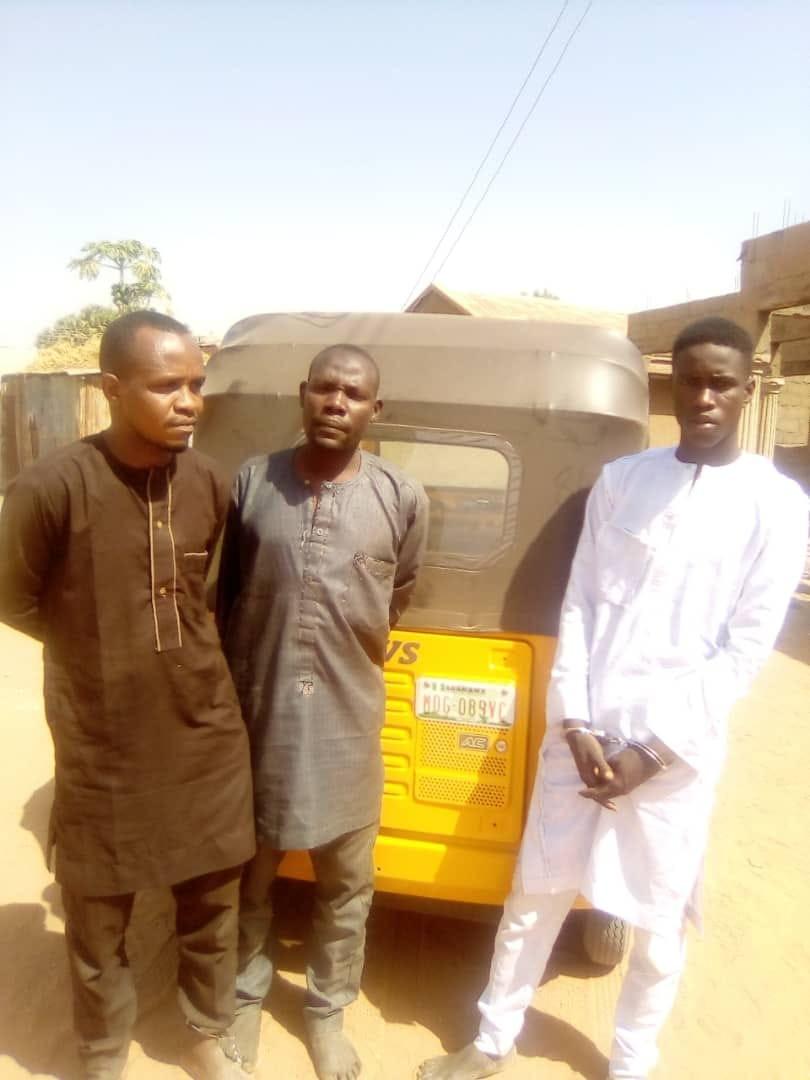 Three members of notorious criminal gang