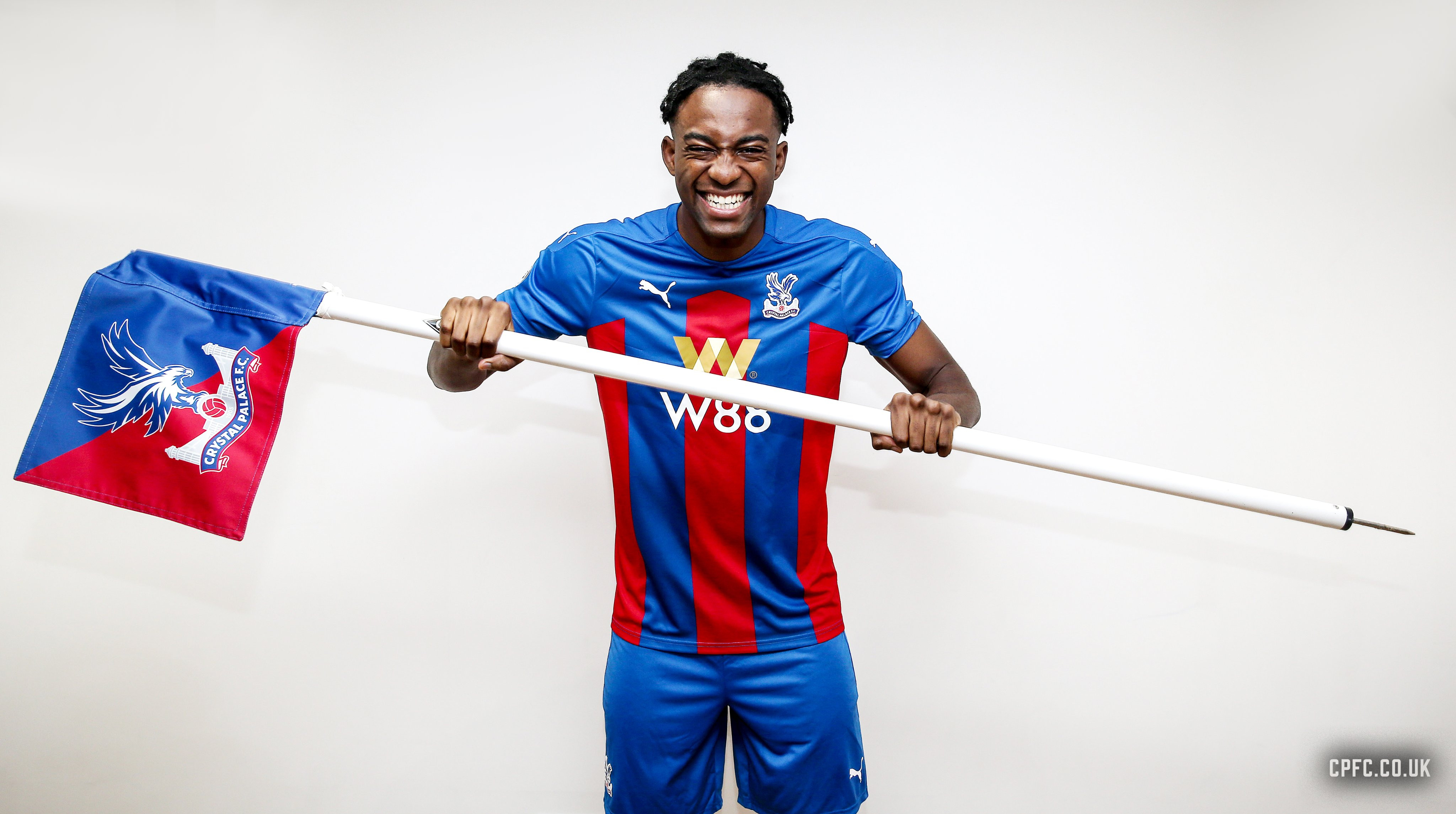 French striker, Jean-Philippe Mateta joins Crystal Palace on an 18-month loan from Mainz (photos)