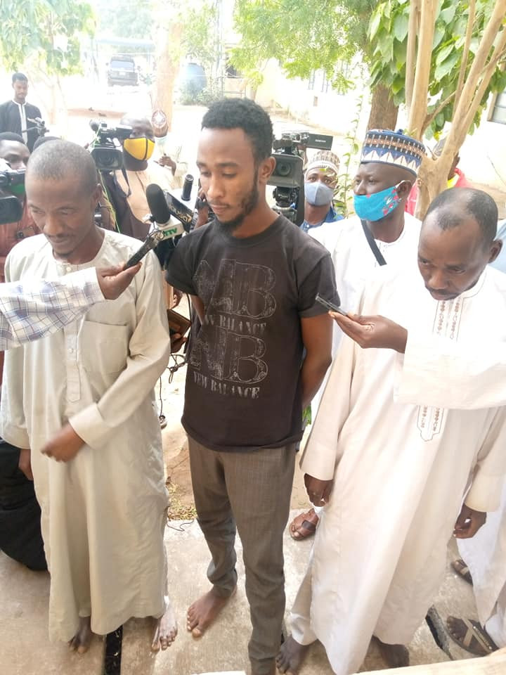 Four suspected rapists arrested for sodomising 5 boys aged 6 to10 in Katsina