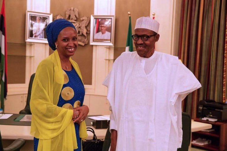 Buhari reappoints Hadiza Bala as Nigerian Ports Authority MD
