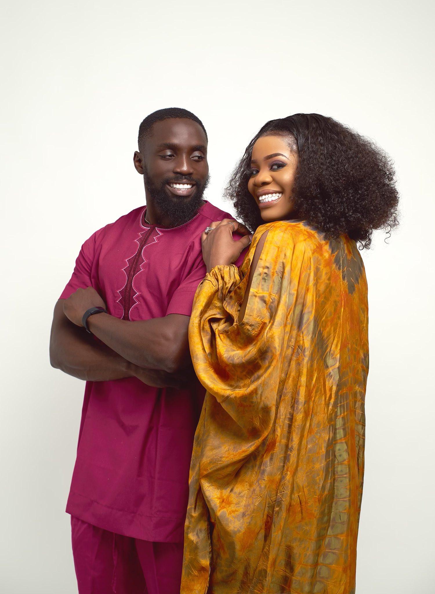 Shola Ogudu shows off her fiance (photos)