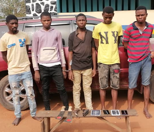 25-year-old sales boy and his gang arrested for masterminding robbery attack on his boss