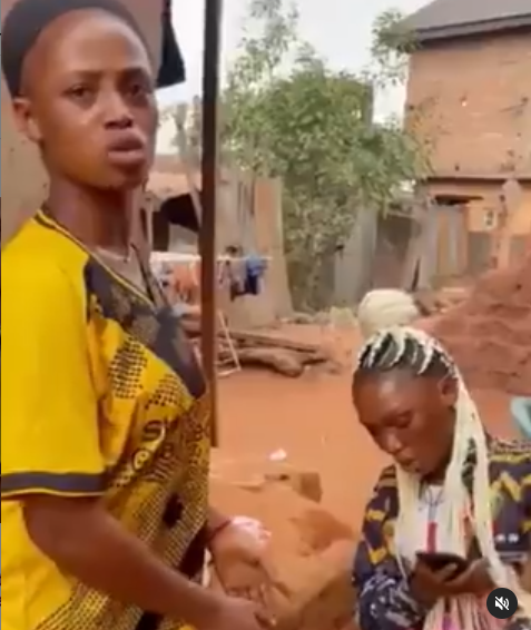 Nigerian lady fights her friend for telling her boyfriend she?s cheating (video)
