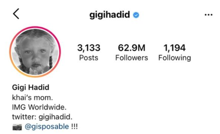 Gigi Hadid finally announces her baby girl