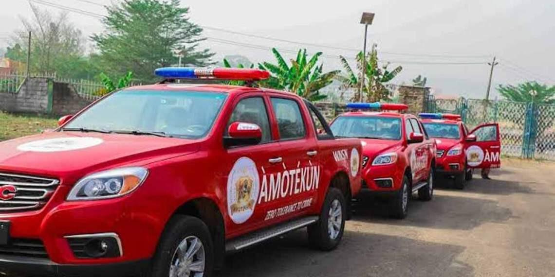 Amotekun arrest four suspected kidnappers in Ekiti