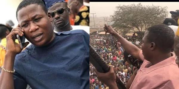 Nnamdi Kanu reacts to IGP's order for the arrest of Sunday Igboho over eviction notice to Fulani herdsmen || PEAKVIBEZ