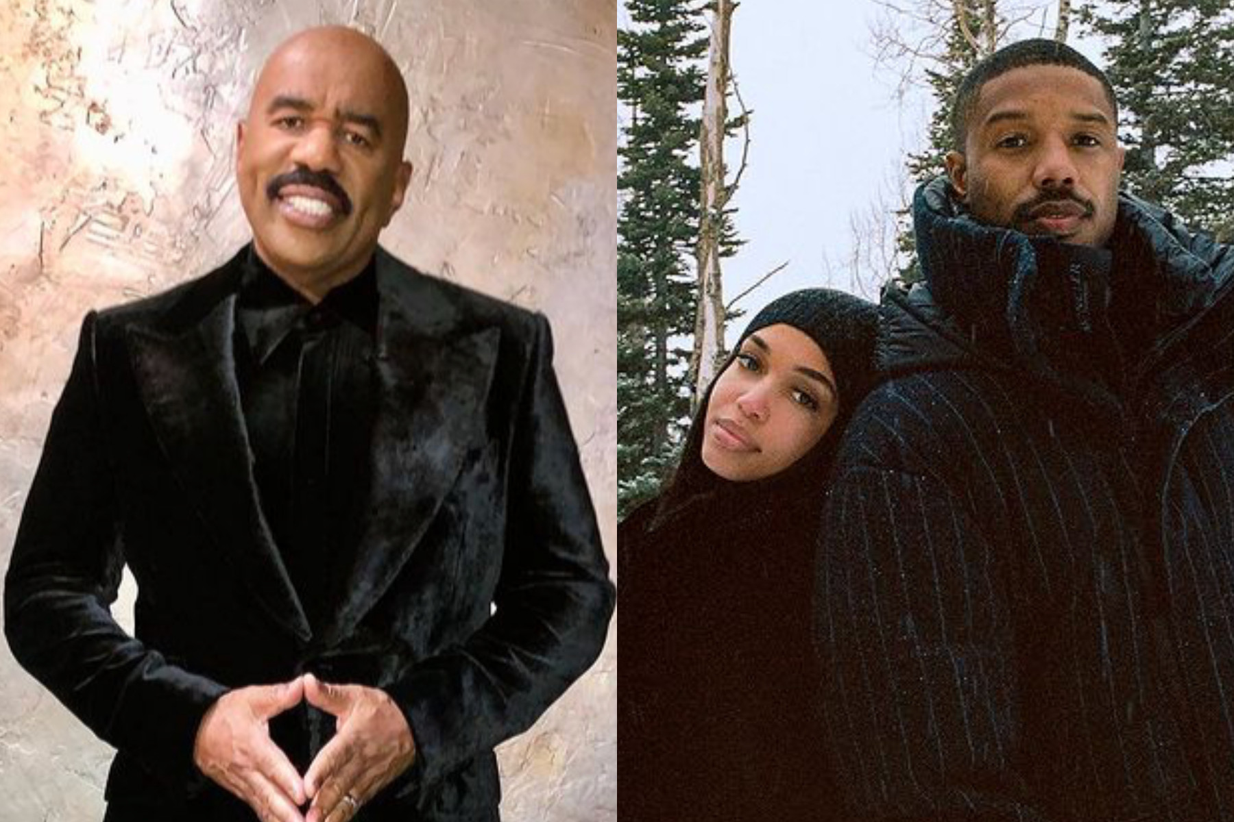 Steve Harvey reacts to daughter Lori