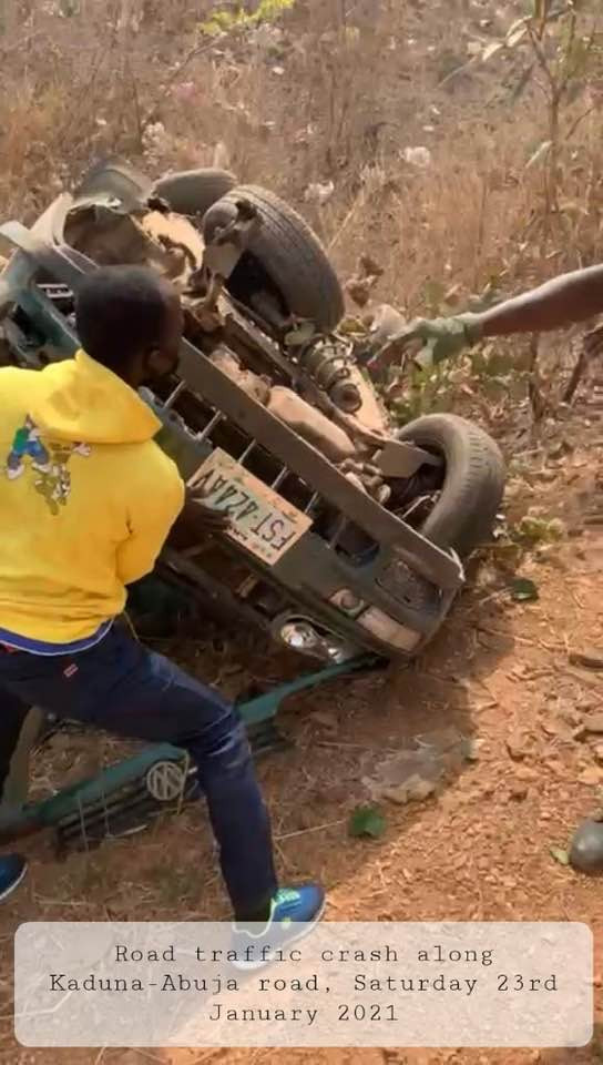 15 persons killed in accidents along Kaduna-Abuja road
