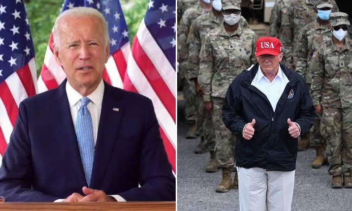 Joe Biden to remove Trump