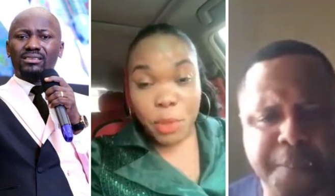IGP orders an investigation after a pastor accused Apostle Suleman of sleeping with his wife (video)