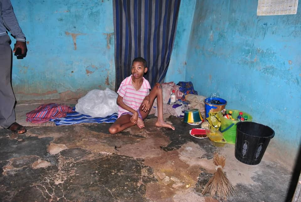 Osun State Govt rescues 20-year-old physically disabled woman locked up in abandoned house for 5 years by her family