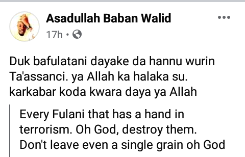 """""""God destroy every Fulani that has a hand in terrorism"""" - Man curses bandits that killed his 9-month pregnant sister in Kaduna"""
