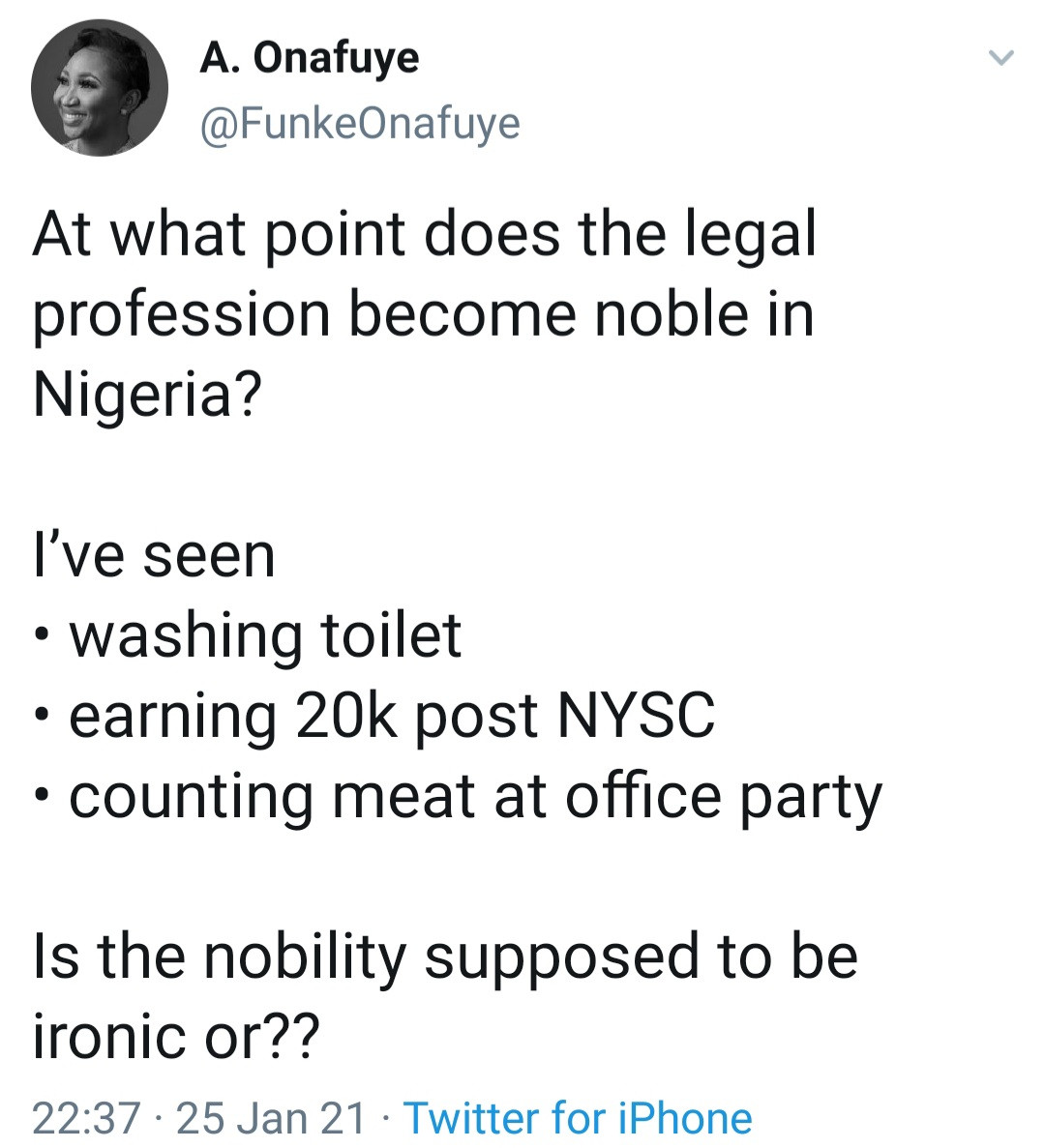 Nigerian lawyers lament low pay and poor treatment as they share their experiences on Twitter