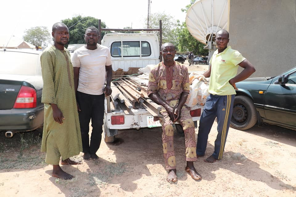 Police arrest 4 suspects for vandalizing rail tracks in Niger state
