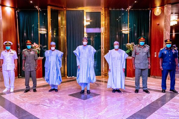 Security: ?We?re in a state of emergency?- President Buhari tells new Service Chiefs