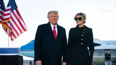 Melania Trump establishes post-White House office and hires staff as Donald Trump plans 2024 comeback