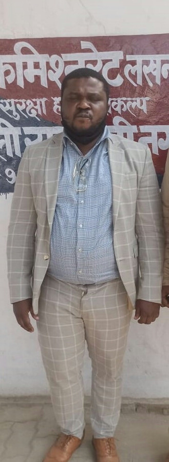 Nigerian man arrested in India with expired visa
