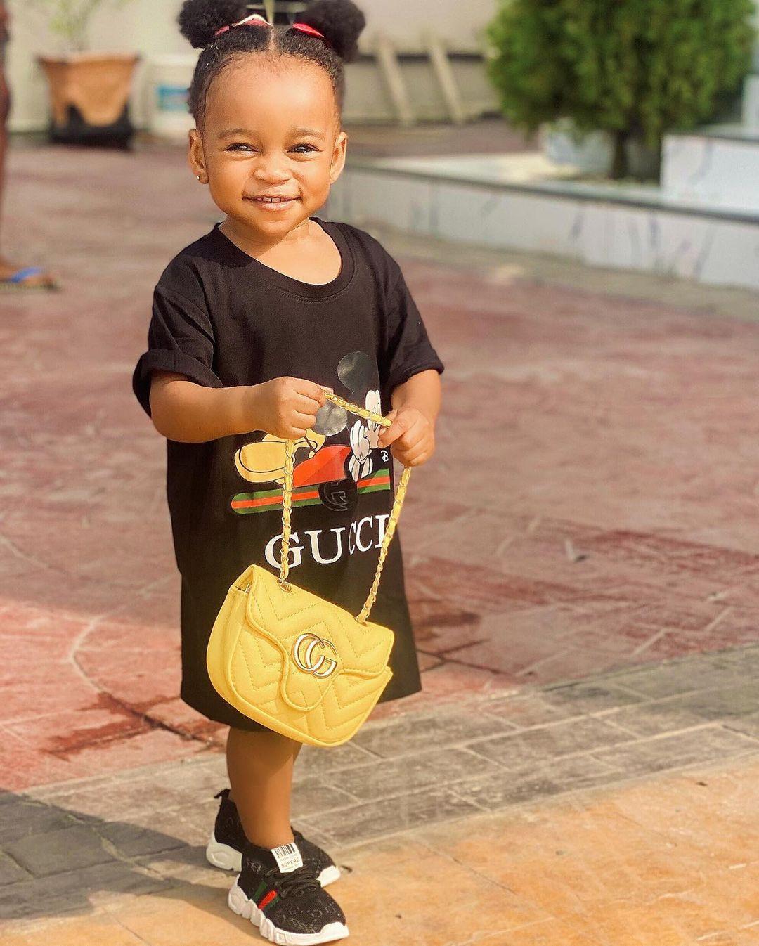 Ruth Kadiri shares adorable photos of her daughter, Reign
