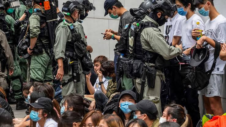 Hong Kongers fleeing national security law