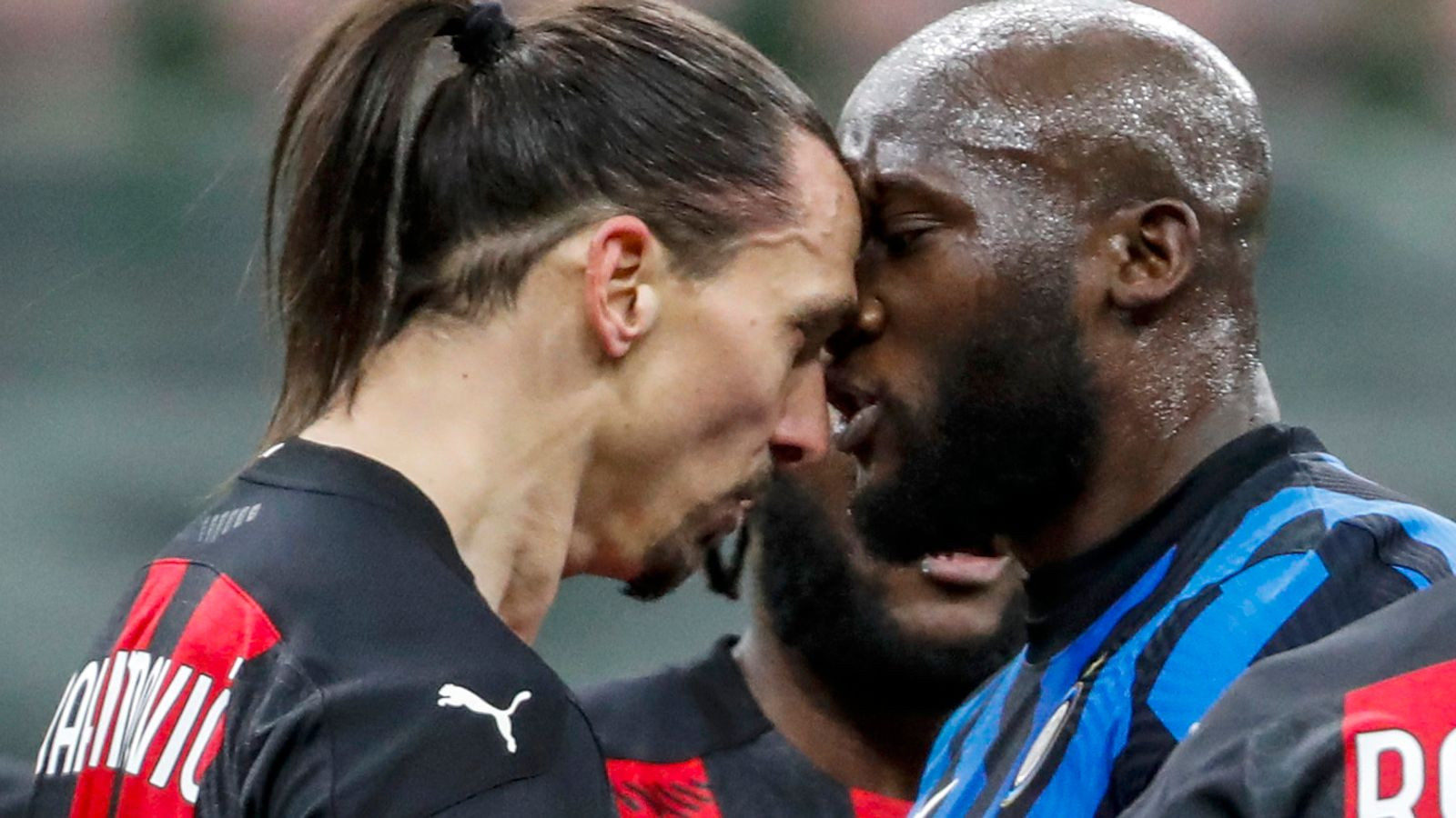 Update: Zlatan Ibrahimovic and Romelu Lukaku get match ban after heated confrontation in Milan derby